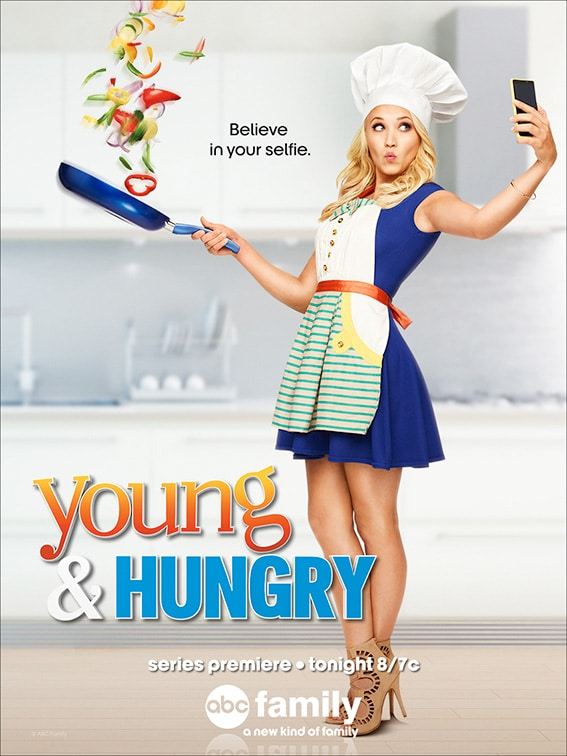 """Watermelon Rosemary Frozen Lemonade + Young & Hungry - Watermelon Rosemary Frozen Lemonade + the premiere of """"Young & Hungry"""" on ABC Family, based on the life and blog of my friend Gabi Moskowitz!"""