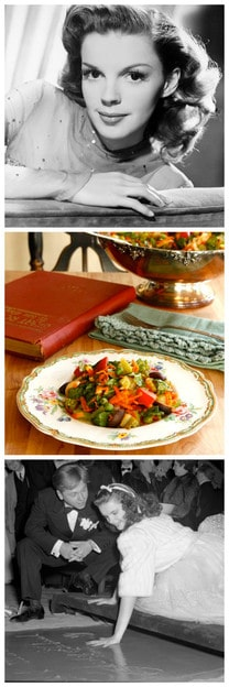 Judy Garland's Favorite Salad - A Recipe from Hollywood History
