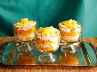 Ambrosia Fruit Salad - Vintage Recipe from Cooking Club Magazine, May 1907