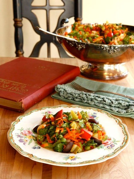 Judy Garland's Favorite Salad Recipe from Tori Avey on The History Kitchen