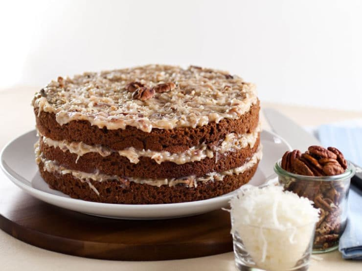 German Chocolate Cake Homemade Recipe