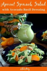 Apricot Spinach Salad Pinterest Pin