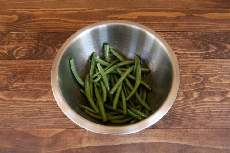 Green Bean Beet and Pistachio Salad - Flavorful and Festive Vegan Side Dish Recipe