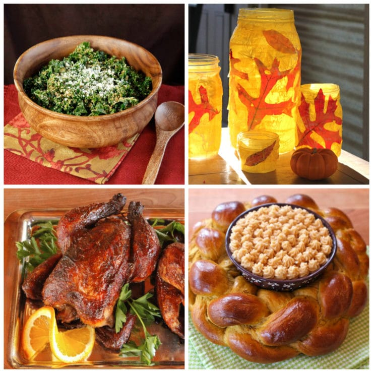 Sukkot Recipes - Jewish Holiday Recipe Ideas - Delicious and creative recipe and craft ideas for the Jewish holiday of Sukkot.