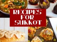 Recipes for Sukkot Pinterest Pin on ToriAvey.com