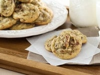 Date Cookies – Butter cookies with gooey dates and toasted pecans. Time-Tested Family Recipe.