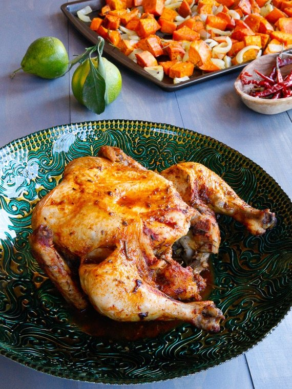 Lisa Leake's Slow Cooker Chicken Recipe from the 100 Days of Real Food Cookbook