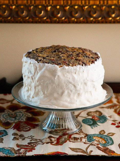 American Cakes - Lane Cake History and Recipe - History of Lane Cake and a Traditional Recipe for this Classic Southern Boozy Layer Cake From Food Historian Gil Marks.