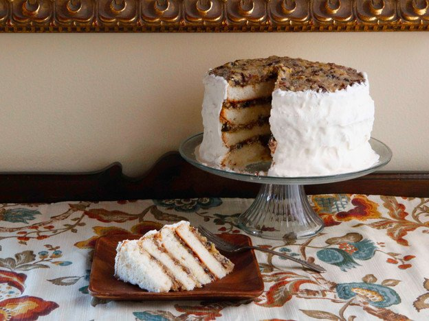 American Cakes - Lane Cake History and Recipe - History of Lane Cake ...