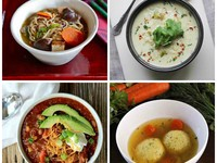 Cold Weather Soup Recipes on ToriAvey.com