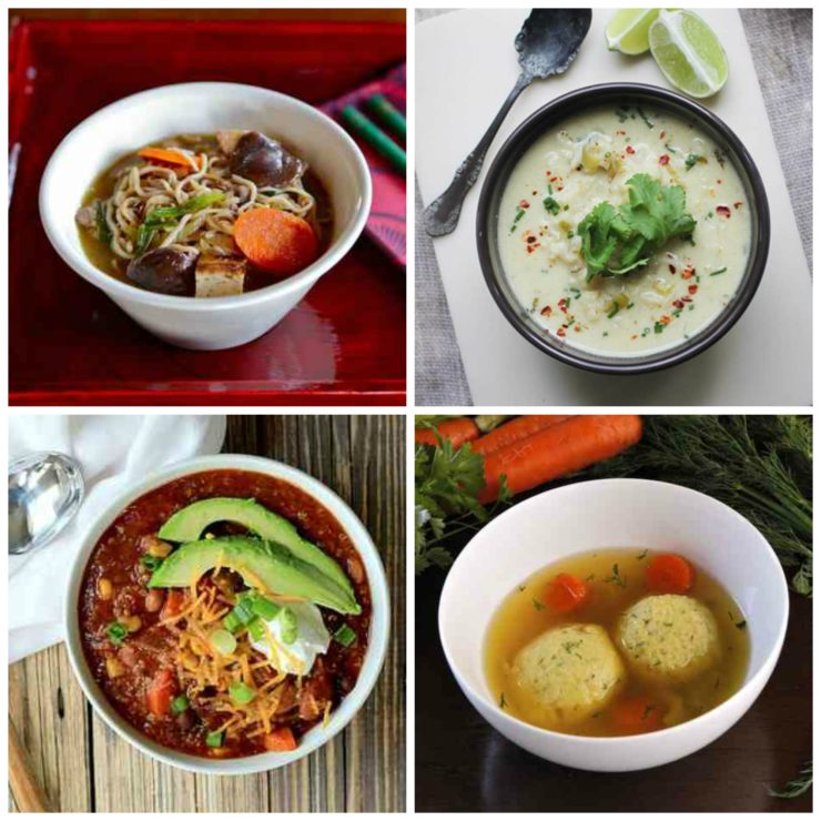 Cold Weather Soup Recipes