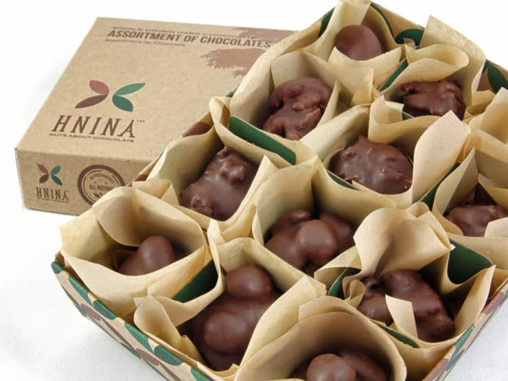 HNINA Gourmet Giveaway - Win a Box of Healthy Vegan Organic Chocolates!