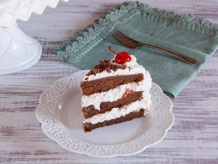 Black Forest Cake History Recipe