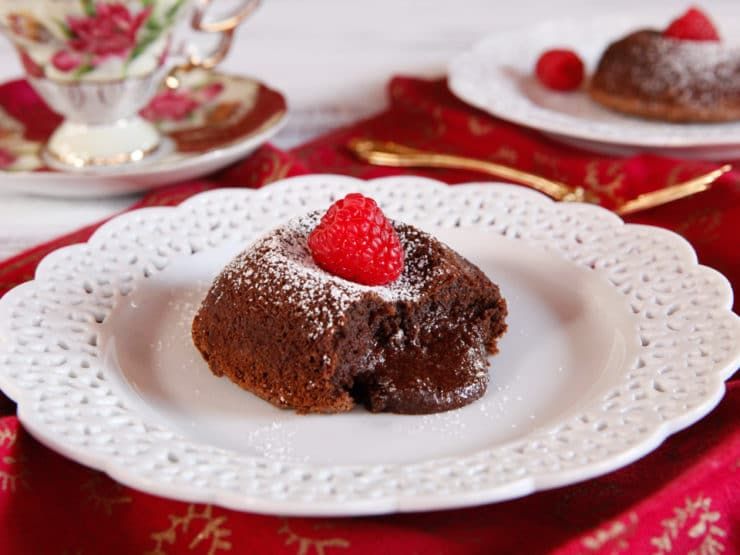 American Cakes - History & Recipe for Molten Chocolate Cakes, aka Chocolate Lava Cakes - The Story Behind a Beloved Dessert from Food Historian Gil Marks