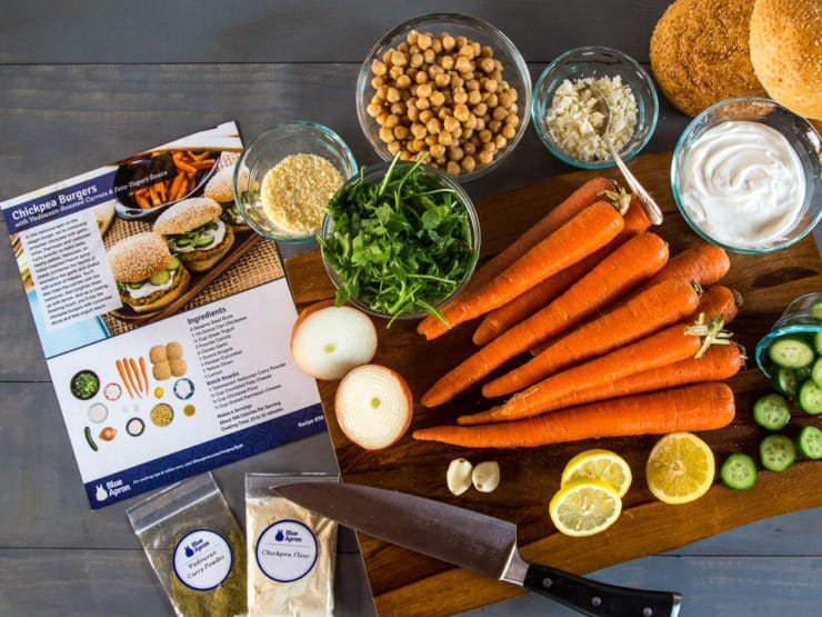 Cooking With Blue Apron Delivery Service + An Offer For Two Free Meals! #blueapron