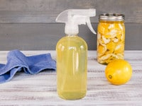Natural All Purpose Homemade Citrus Cleanser - Make Your Own Organic Citrus-Infused Liquid Cleanser for Kitchen, Windows and More! Economical, Natural and Effective. Ditch Chemical Cleaning Products for Good!