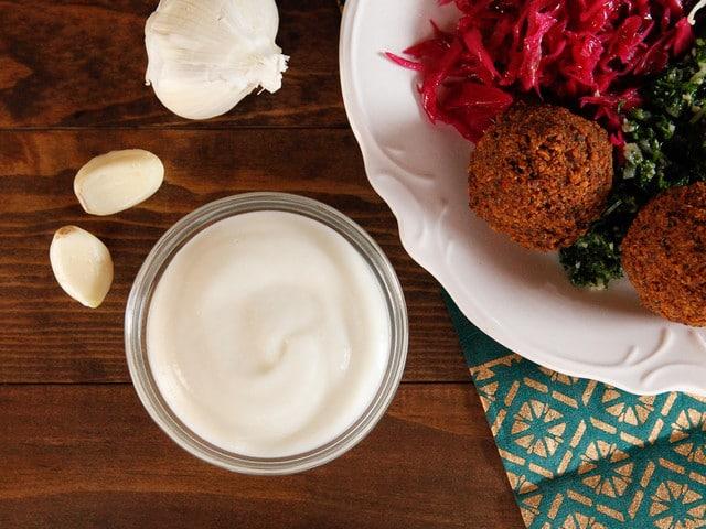 Toum - Middle Eastern Garlic Sauce