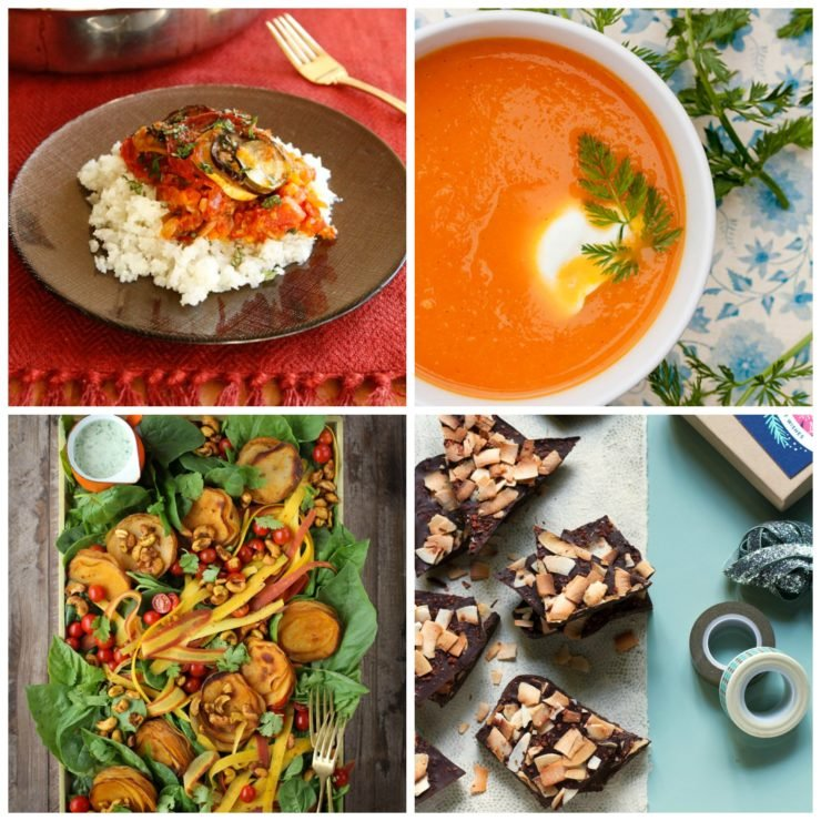 Vegan Recipes for Passover - A Roundup of Kosher Vegan Recipes for the Passover Holiday on ToriAvey.com #PassoverPotluck