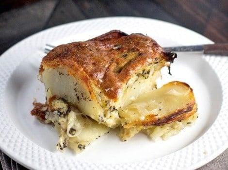 Gluten Free Potato Kugel Gratin
