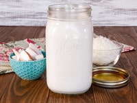 How to Make Homemade Coconut Milk & Coconut Flour - Easy Recipe Tutorial for Vegan Non-Dairy Milk & Gluten Free Flour from Shredded Coconut