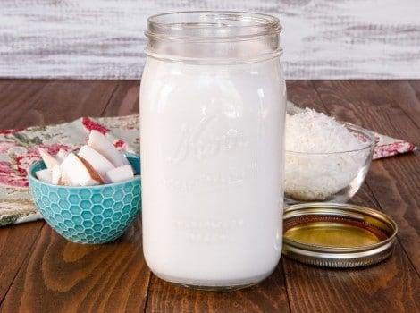 How to Make Coconut Milk & Gluten Free Coconut Flour