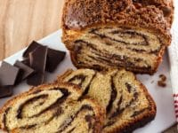 Chocolate Babka Pinterest Pin on ToriAvey.com