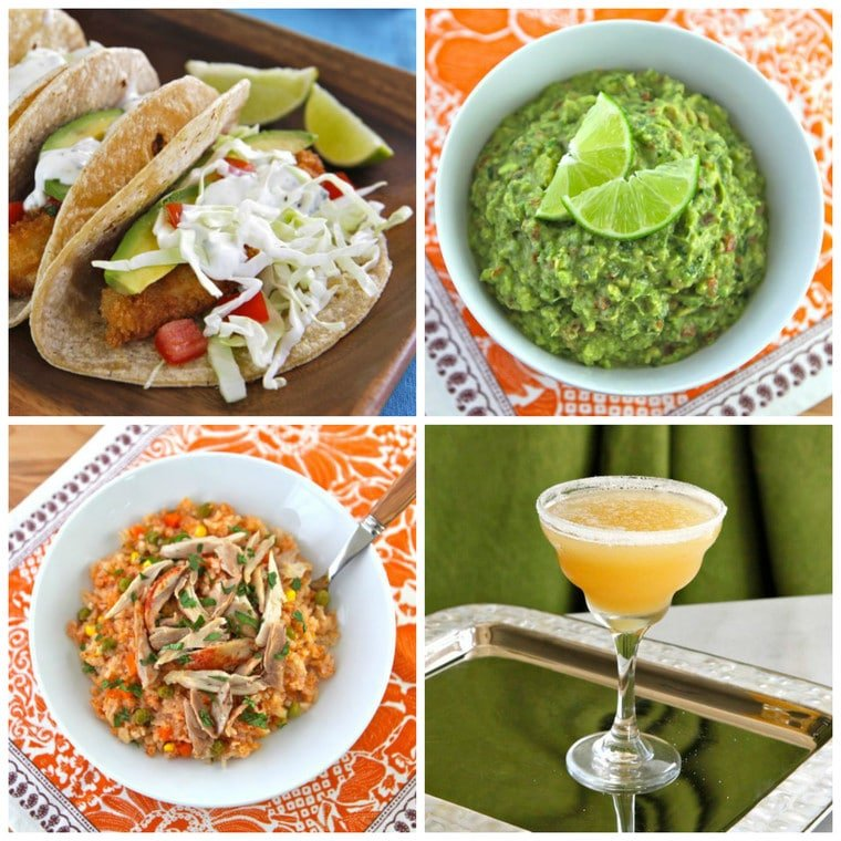 Recipes for Cinco de Mayo - A Roundup of Tasty, Mexican-Inspired Recipes on ToriAvey.com. Includes Entrees, Appetizers, Drinks, and Desserts!