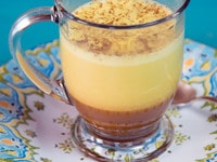 Turmeric Chai Latte Recipe - Homemade Chai Extract with Anti-Inflammatory Turmeric. Dairy or Non-Dairy. Make a Sweet, Exotic and Healing Beverage at Home.