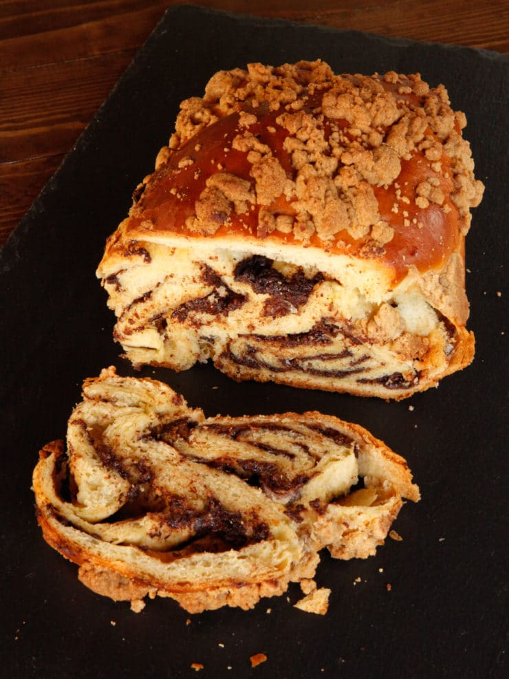 Chocolate Babka Recipe - Bake Tender, Delicious Homemade Chocolate-Filled Babka with this Illustrated Step-by-Step Tutorial.