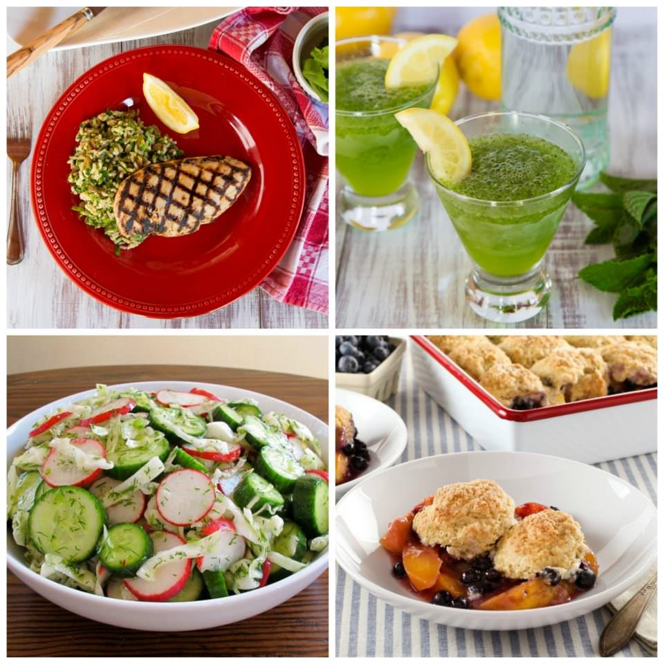Delicious Recipes for Memorial Day - Try these recipes for your Memorial Day weekend celebration, including lots of unique, healthy and flavorful options