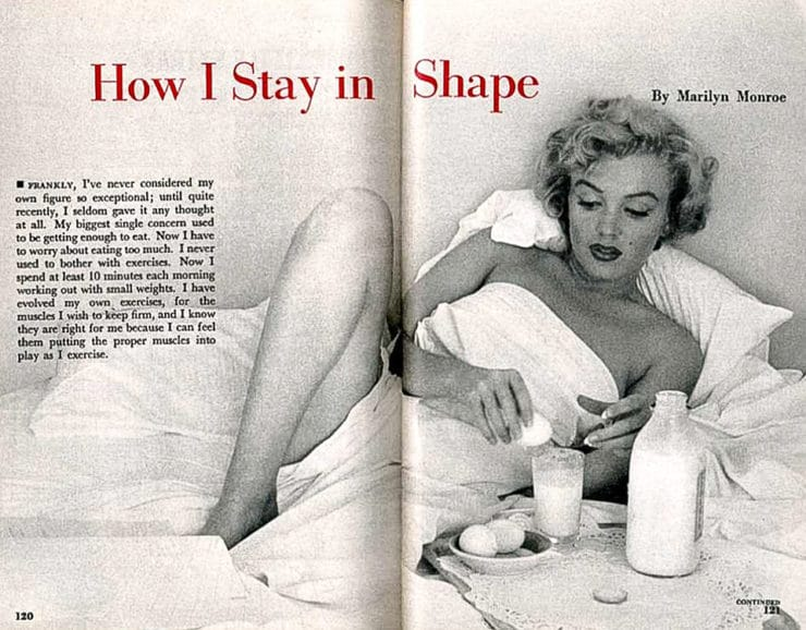 Marilyn Monroe Inspired Recipes - Celebrate Marilyn Monroe with a meal she would have loved, with simple and tasty recipes featuring some of her very favorite foods.