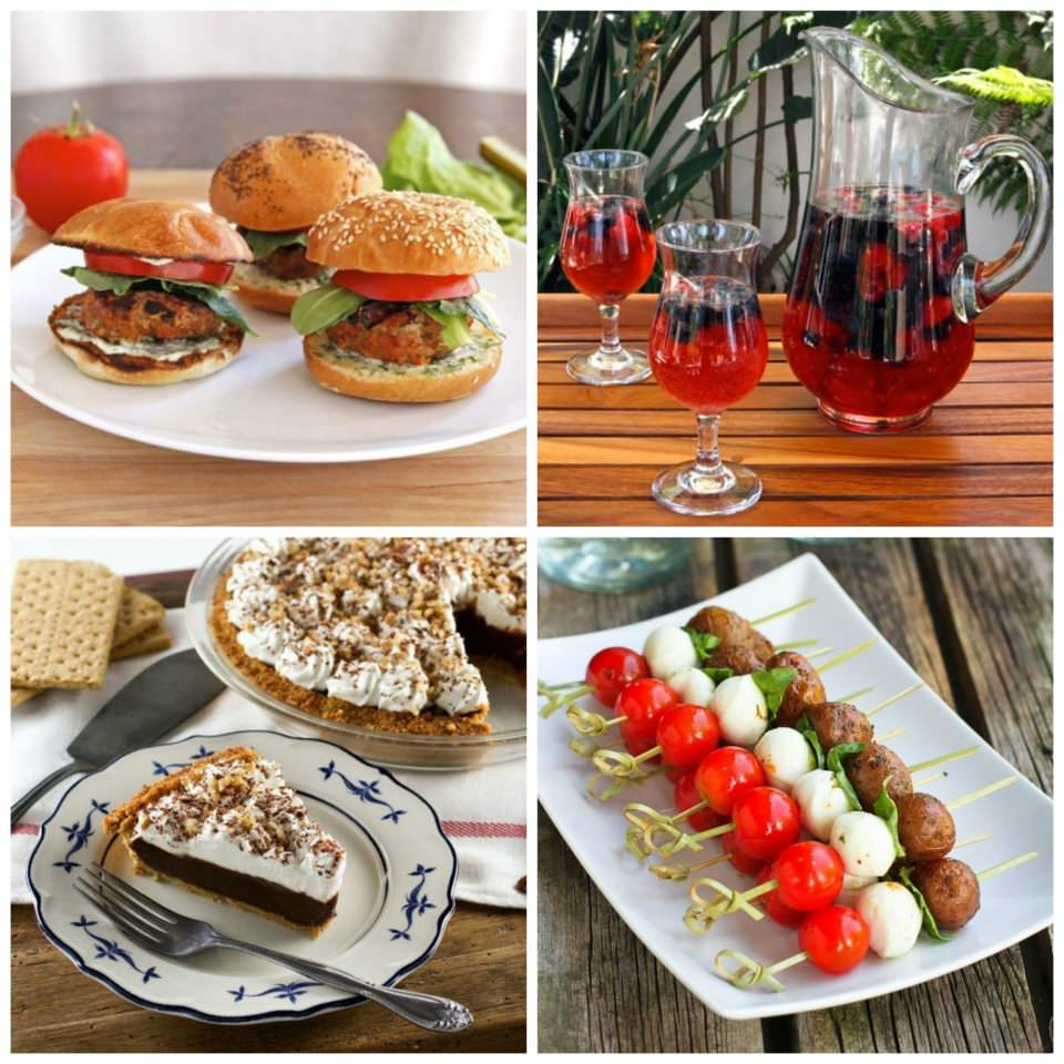 Recipes for 4th of July Weekend – Tasty, healthy and inspiring recipes to keep your guests happy all weekend long!