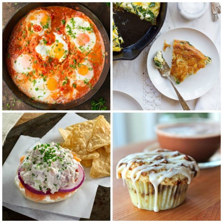 Breaking the Fast with Brinner - 30 Easy Recipes for the Yom Kippur Break Fast. Break the fast with breakfast-style foods, simple and delicious.