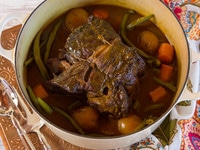 Savory Grass Fed Pot Roast - Easy, Flavorful Recipe for Grass Fed Pot Roast with Turmeric, Onions, Mustard, Garlic & Spices