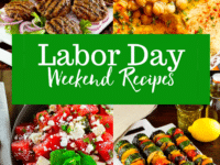 Labor Day Weekend Recipes Pinterest Image