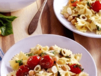 Lemon Pasta Salad Pinterest Image