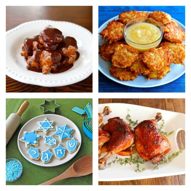 Hanukkah Holiday Recipe Roundup - Delicious Ideas for Your Holiday Table from ToriAvey.com
