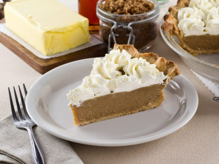 Butterscotch Pie - Lightly Sweetened Crust filled with Buttery ...