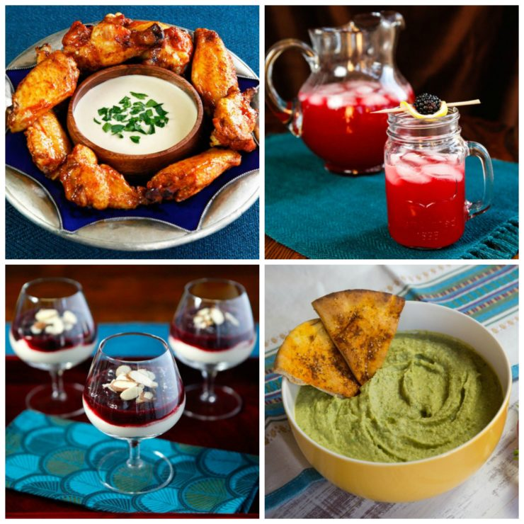 Superbowl Sunday Recipes - Game Day Roundup of Easy, Tasty Food Ideas for the Big Game. Includes Entrees, Appetizers, and Desserts.