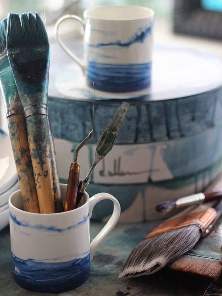 The Art of the Everyday Dish - A behind-the-scenes look at Deborah Allen's artistic bone china line from 1882 Ltd.