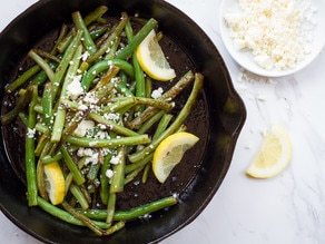 Seared green beans with feta ToriAvey.com-1