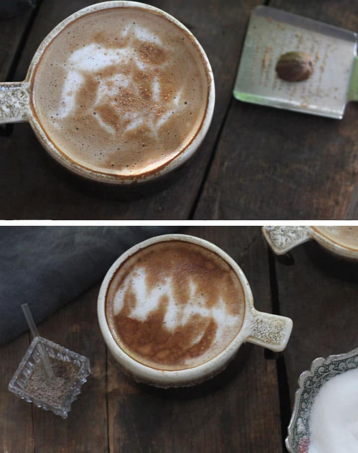 The Art of the Homemade Latte: Foam Latte Art - Learning the basics of latte art, one delicious mug at a time, from Tori Avey contributor Brenda Ponnay.