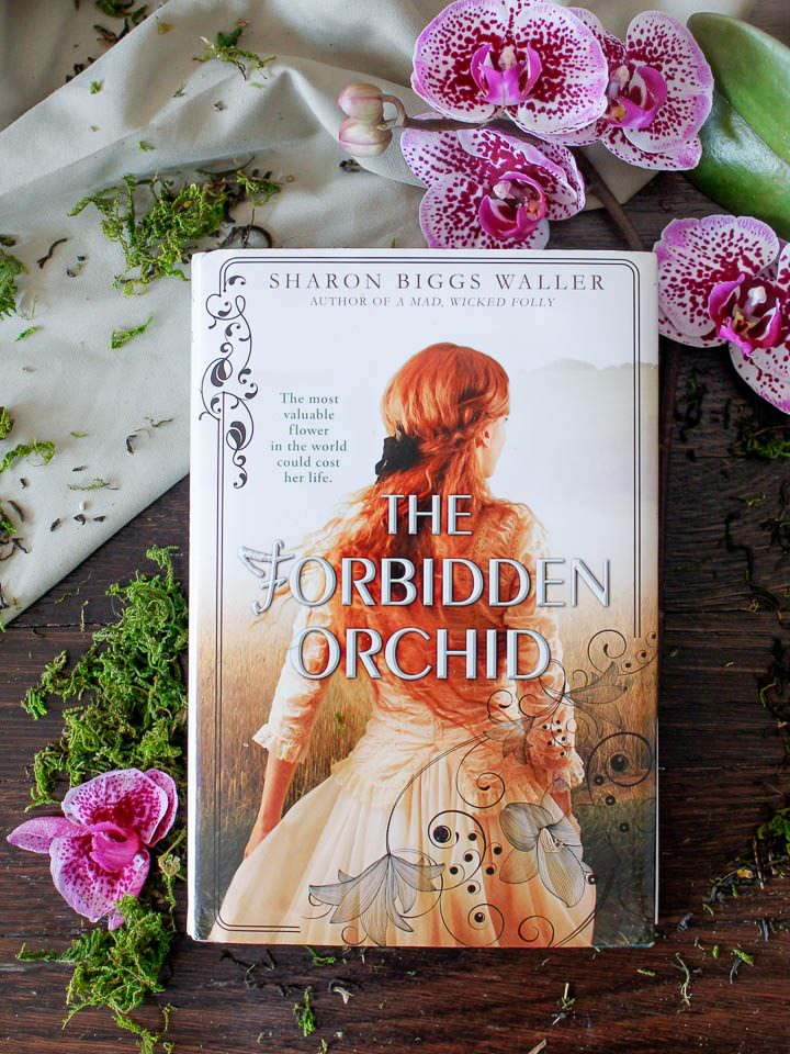 Tori's Bookshelf - The Forbidden Orchid by Sharon Biggs Waller. Book description and interview with the author.