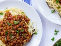 "Vegan Lentil Mushroom Bolognese Sauce - ""Faux""-lognese | Tori Avey"