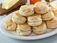 Flaky Buttermilk Biscuits - Recipe for tender, flaky biscuits. Great for preparing ahead and enjoying later! Time-Tested Recipe.