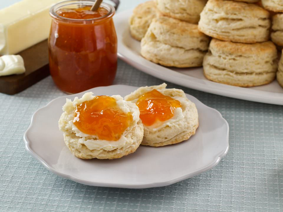 Flaky Buttermilk Biscuits - Recipe for tender, flaky biscuits from Kelly Jaggers. Great for preparing ahead and enjoying later! Time-Tested Recipe.