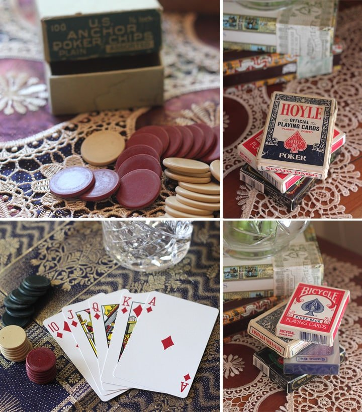 Vintage Poker Night - A Themed Dress-Up Soiree