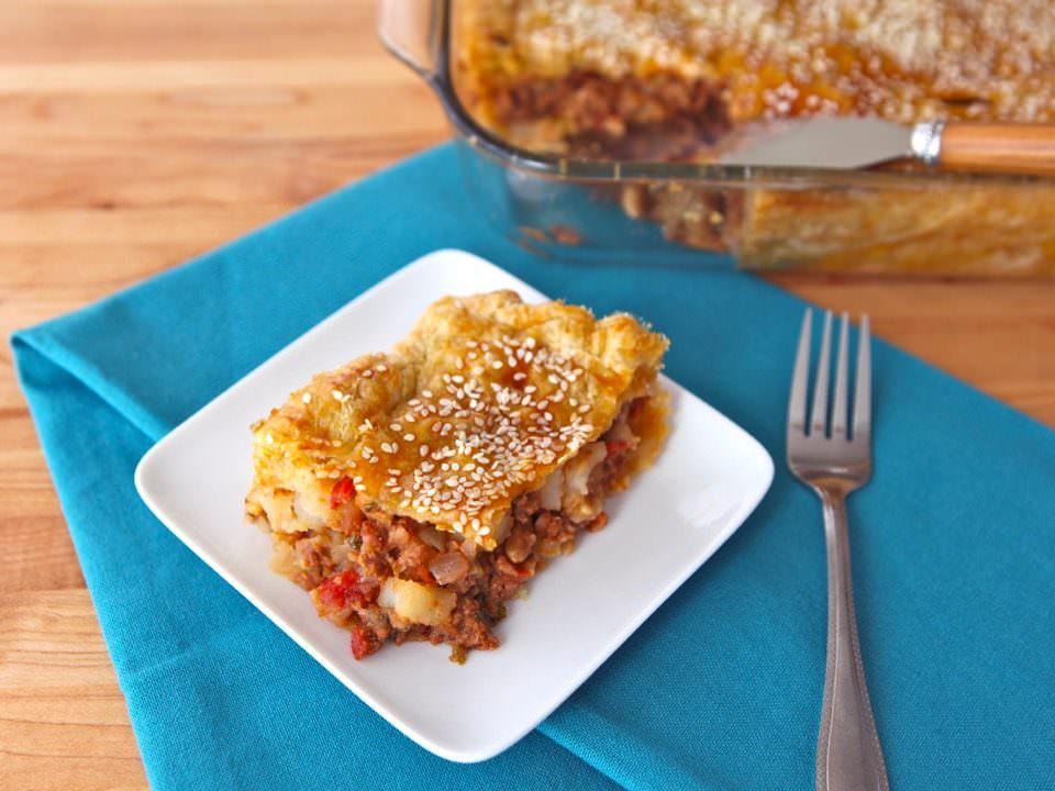 Kobete – Sephardic Savory Meat Pie