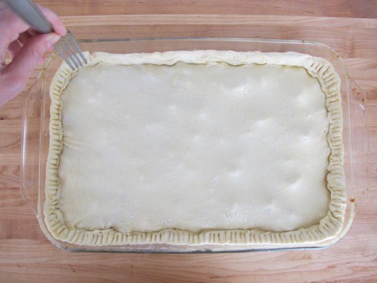 Kobete - Sephardic Savory Meat Pie on ToriAvey.com