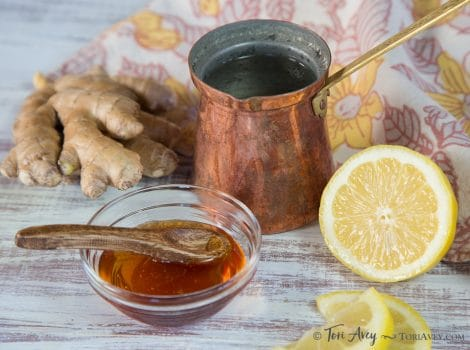 Lemon Ginger Cider Vinegar Infusion